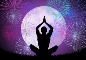Yoga and Fireworks